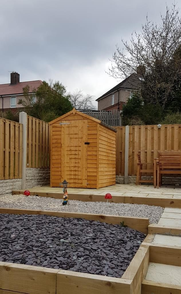 6x4 wooden shed sheffield