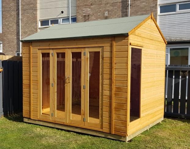 summer house installation Hull