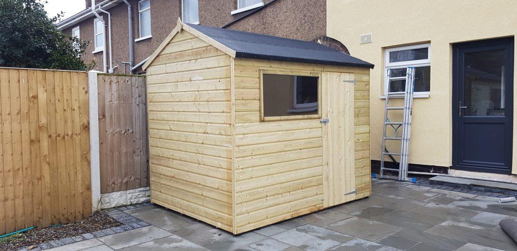 completed garden shed doncaster