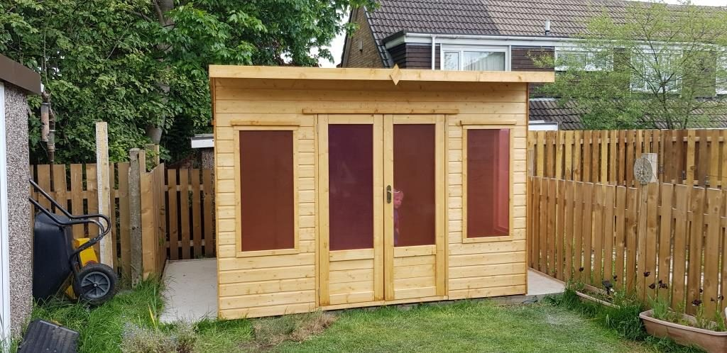 Helios wooden summer house Huddersfield